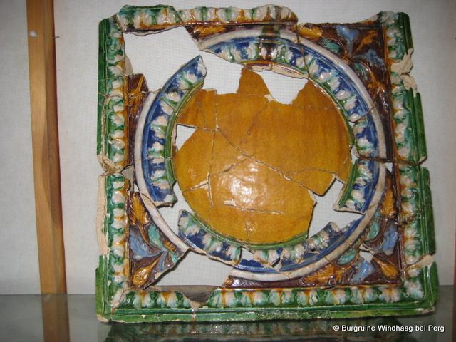 Renaissance-Medailla-Ofenkachel