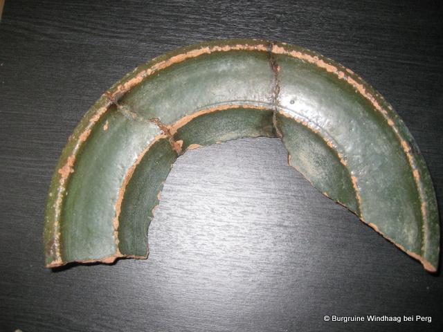 Einfaches Teller-Fragment