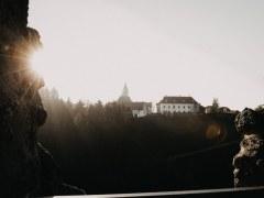 Abendstimmung Windhaag - Blick vom Turm