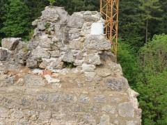 Absicherung Mauerspitz