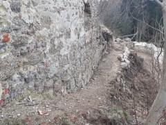 Wegverbindung Ruinenhof zum Rondell